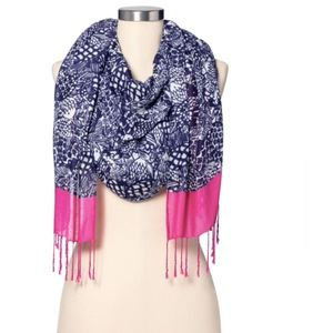 Lilly Pulitzer for Target Scarf with fish print